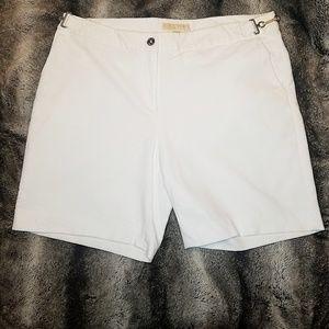 Michael Kors white shorts
